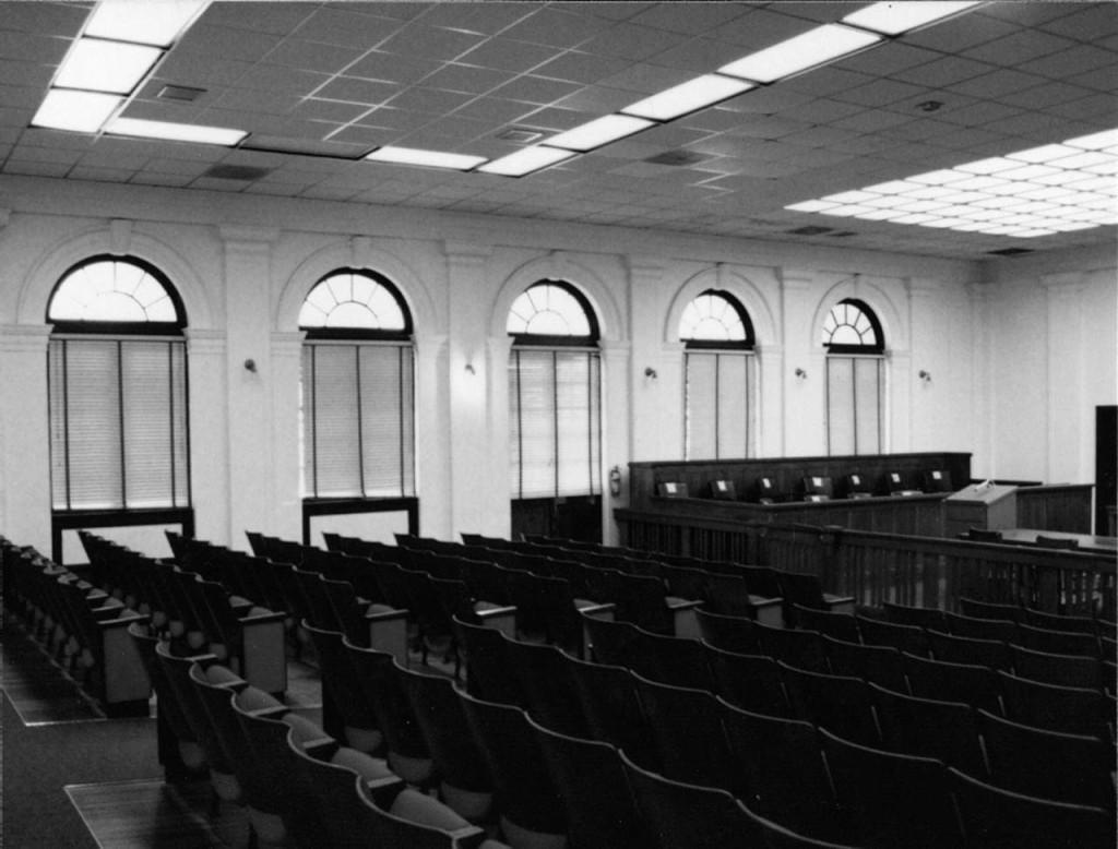 Courtroom Left Side Before