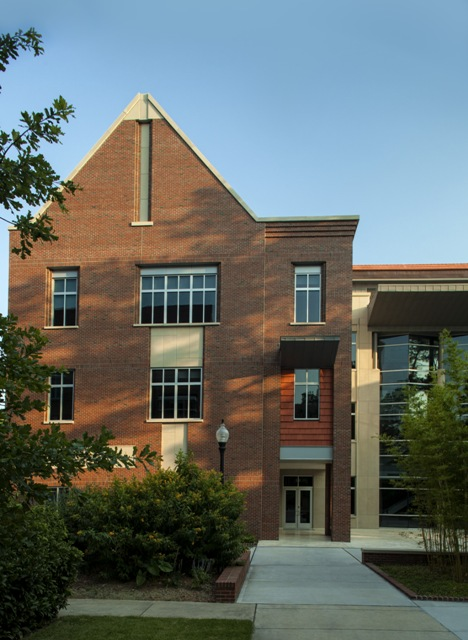 North Elevation from Bryan Hall