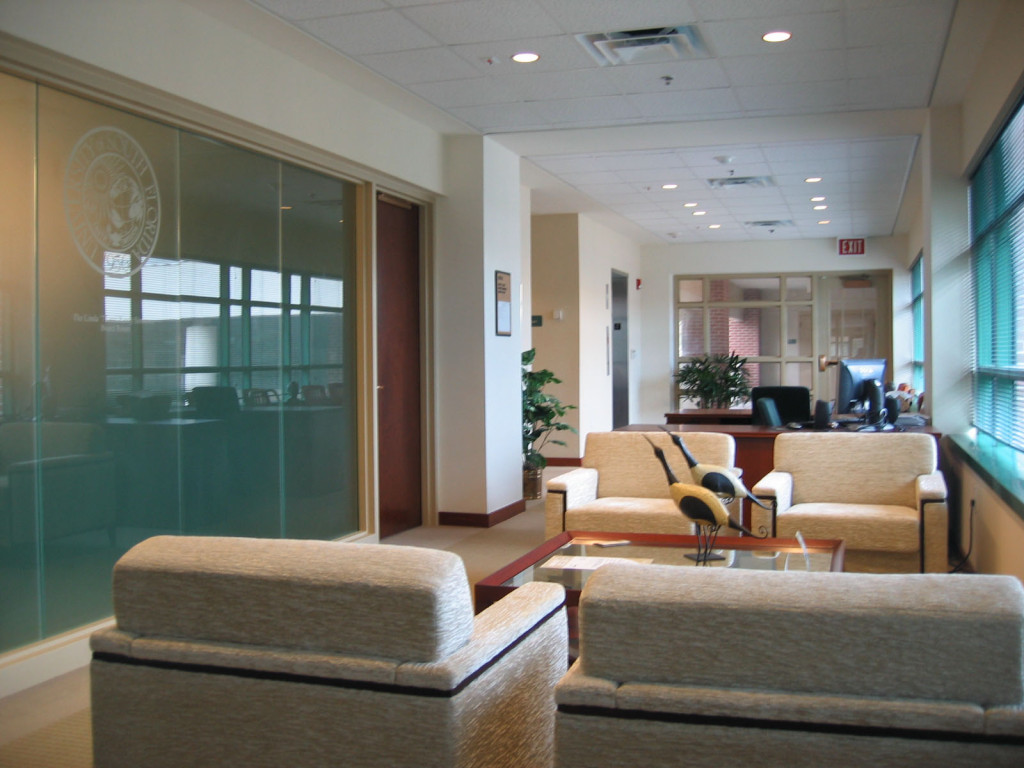 Reception Area at Executive Offices