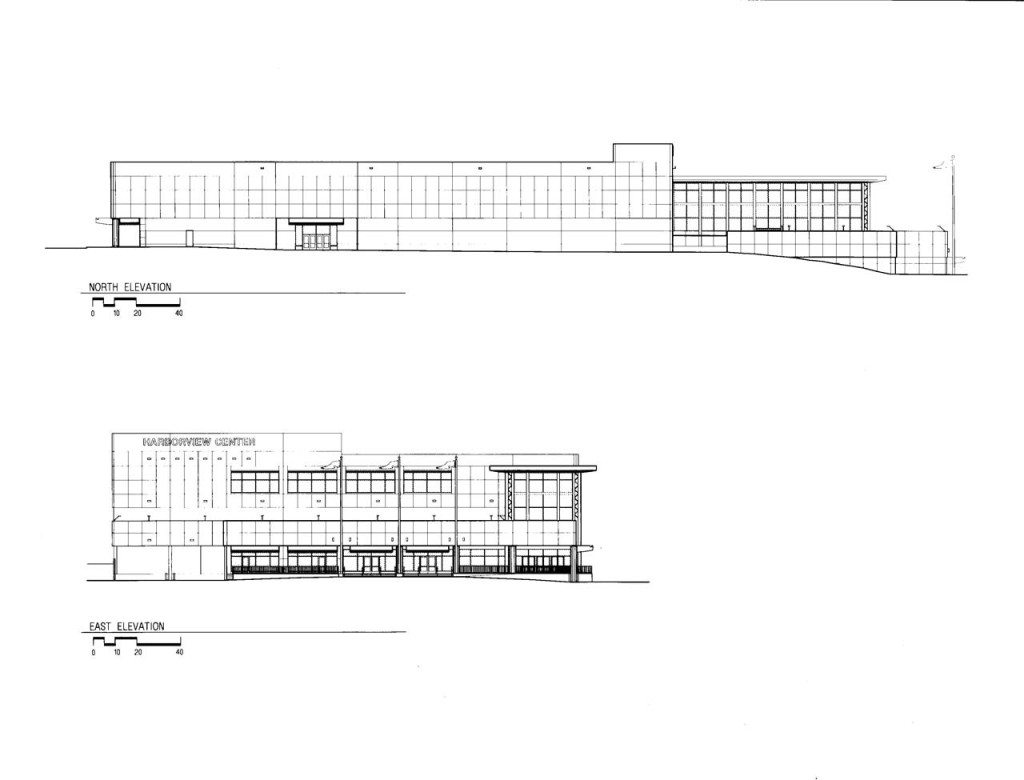 North and West Elevations