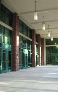 Exterior Pre-Function colonnade