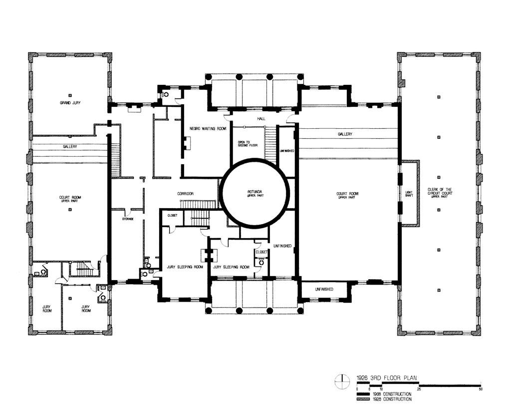 1926 3nd floor plan