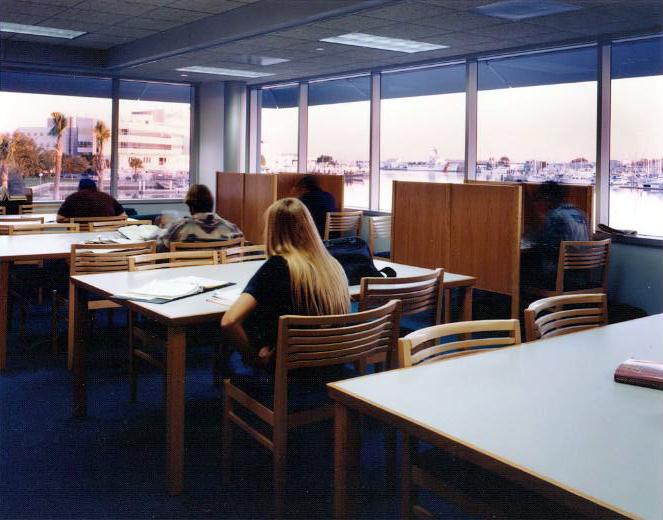 Third Floor Study Carrels