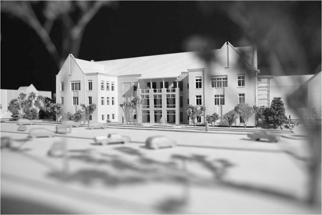 Model view of South Elevation