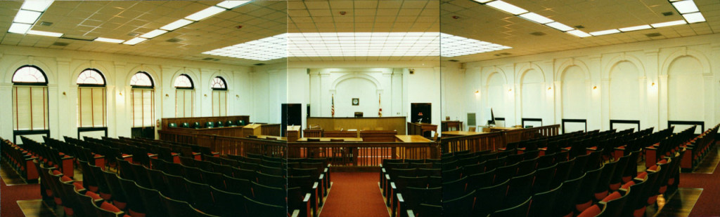 Courtroom before Rehabilitation