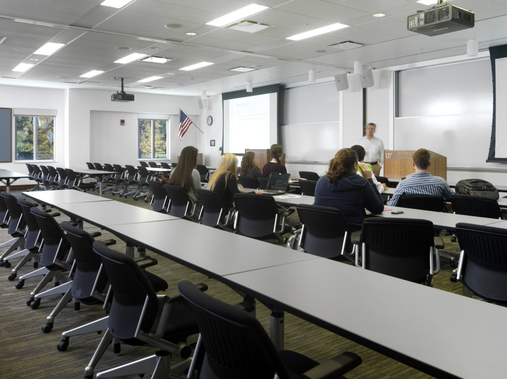 Seminar rooms at ground floor