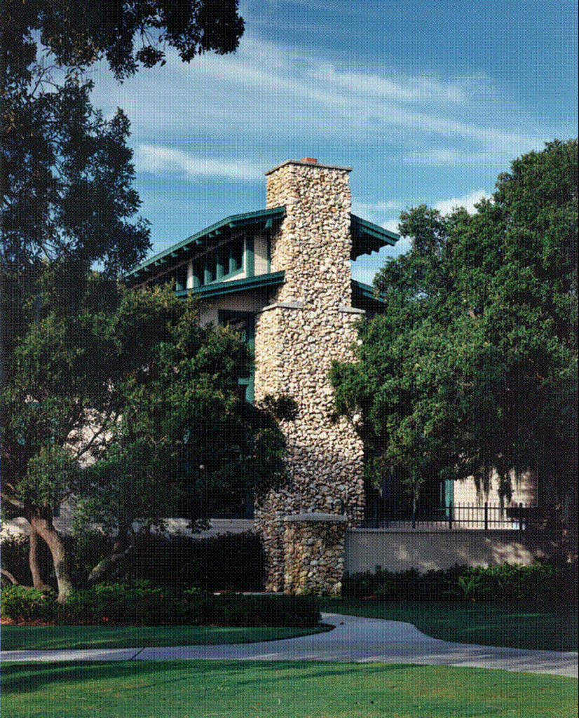 Clubhouse Chimney