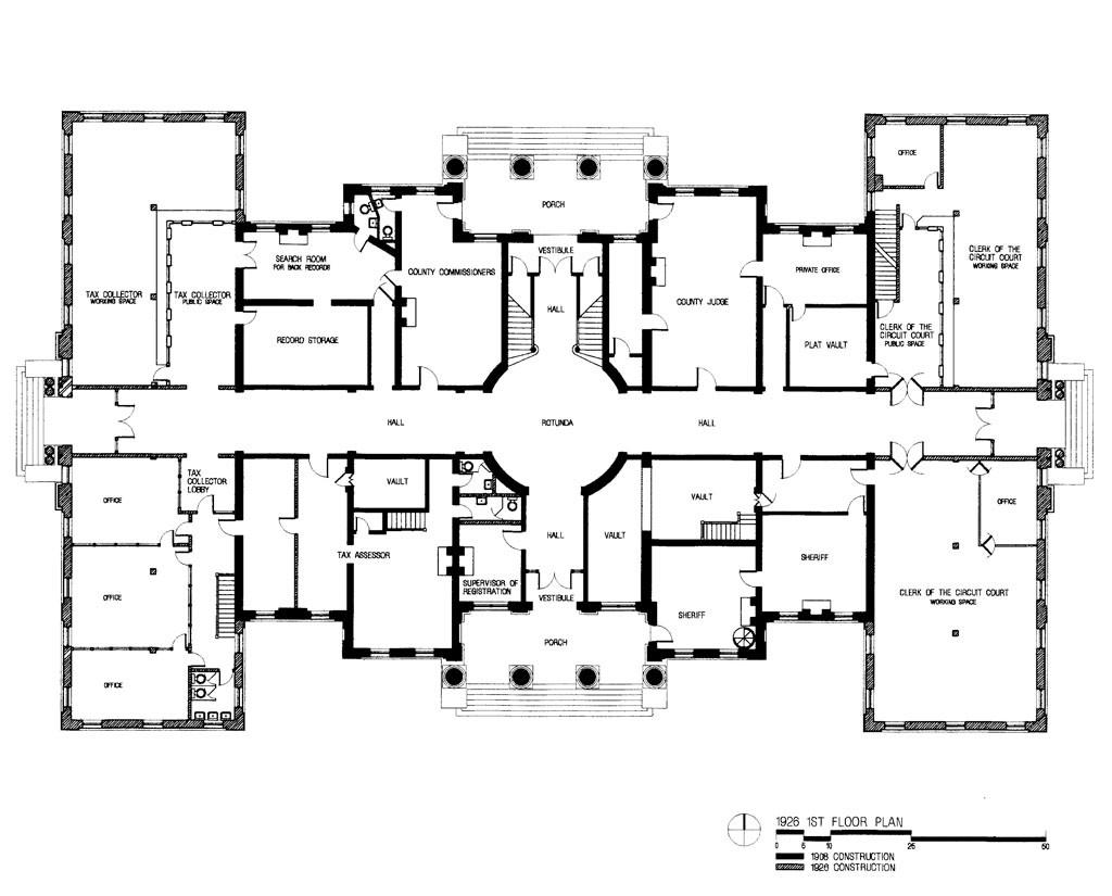 1926 1st Floor Plan