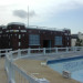 Pool Deck and Headhouse West Facade before Rehabilitation