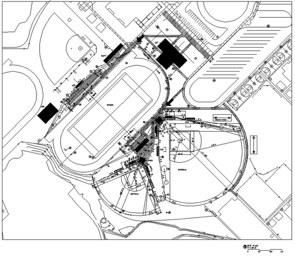 Athletic Site Plan