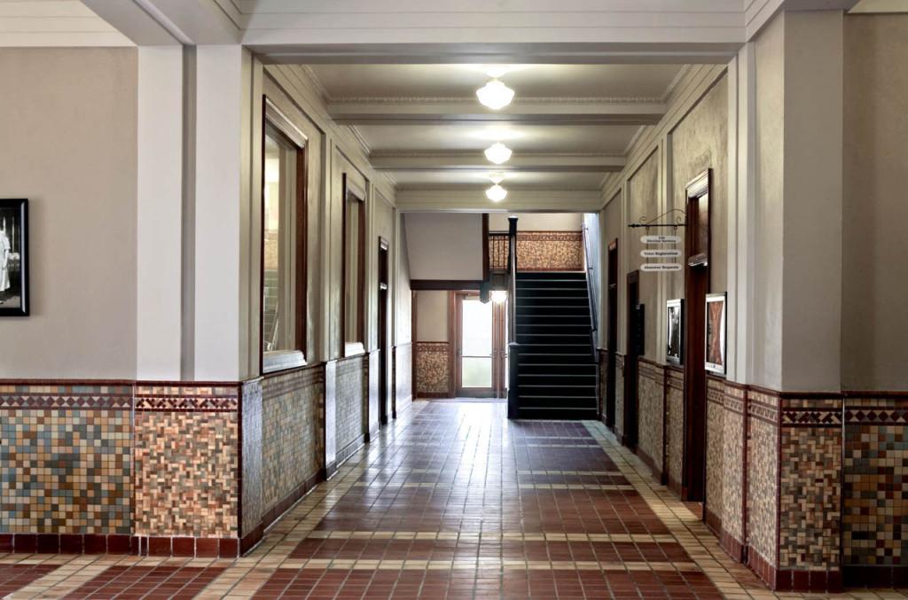 First Floor Corridor after Rehabilitation