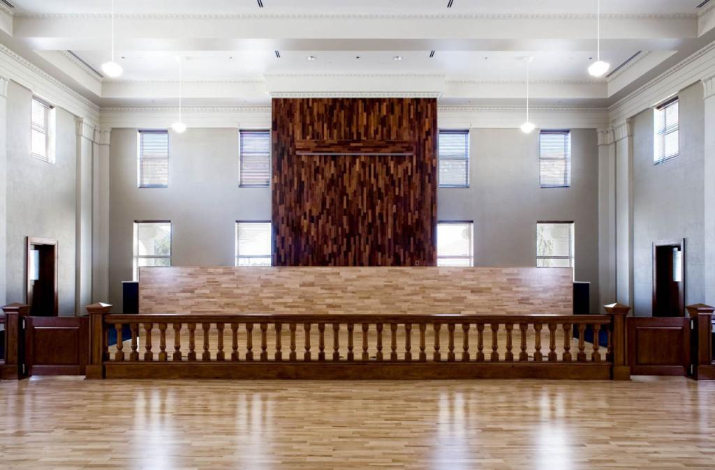Courtroom after Rehabilitation