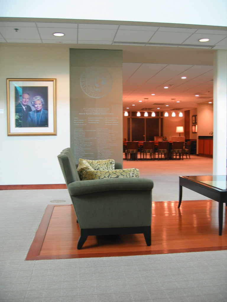 view to Pre-Function Lounge