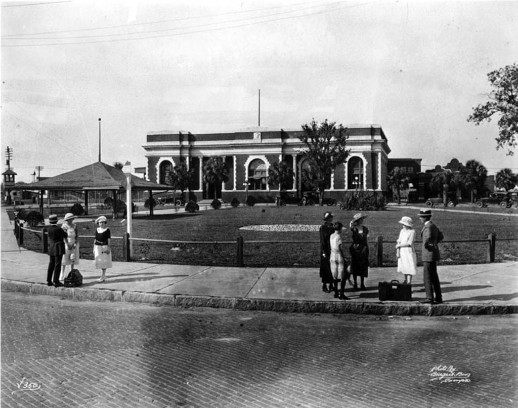 South Facade circa 1915
