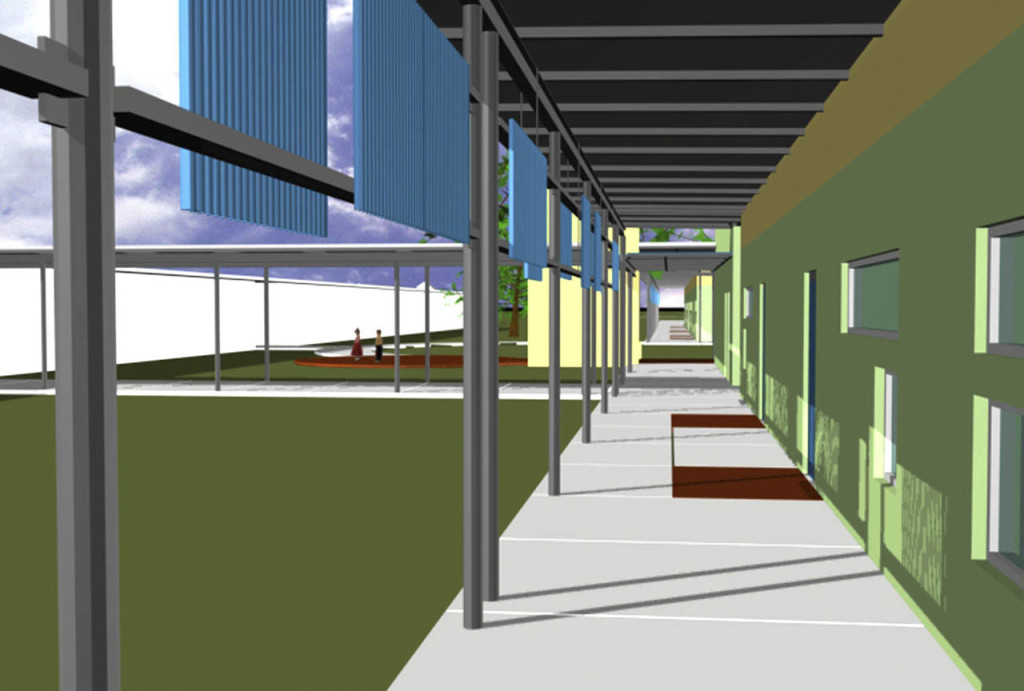 Study Model View Walkway
