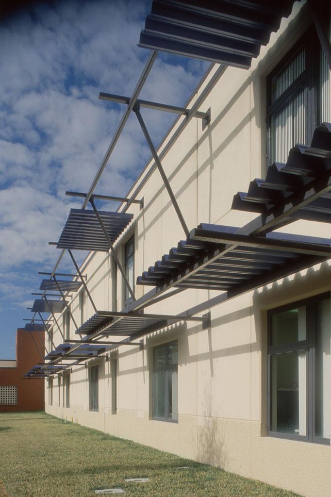 Classroom Building Sun Shades