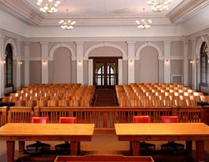 Courtroom from Judge's Bench