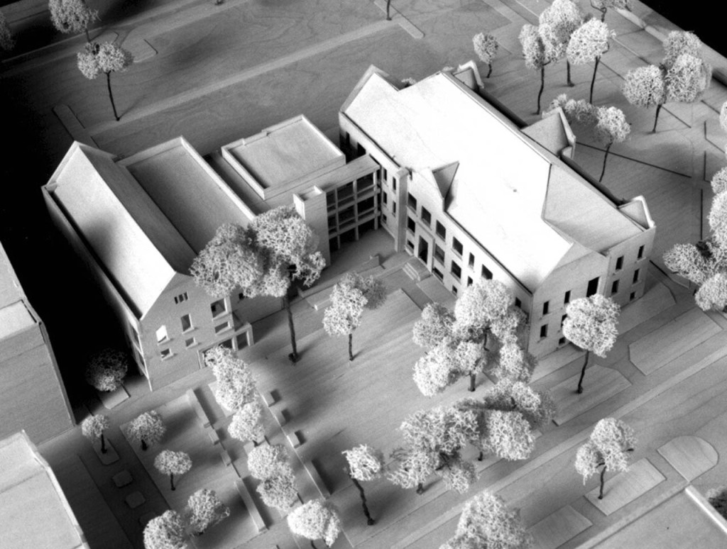 Model View from Southeast