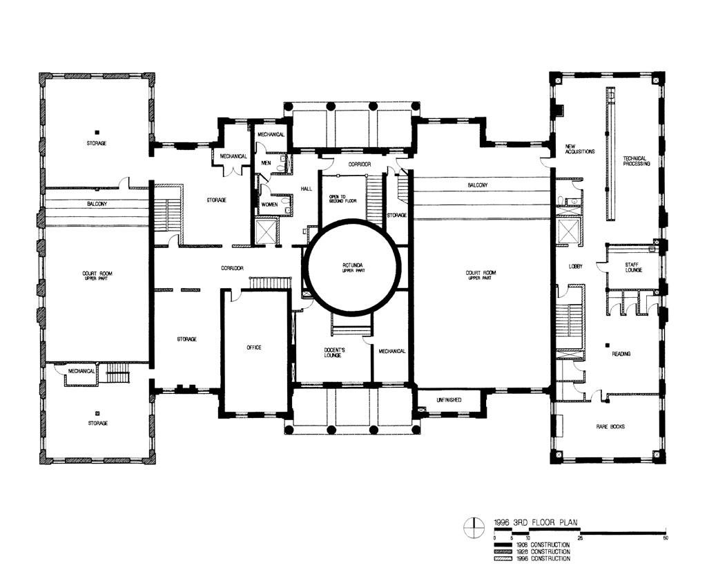 1996 3rd floor plan